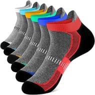 55% OFF! Newdora Men's Socks Ankle Athletic Socks(6 Pairs)