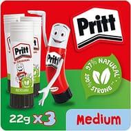 Pritt Glue Stick, Safe & Child-Friendly Craft Glue