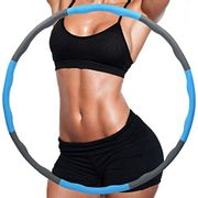 FLT Weighted Folding Massage Hula Hoops for Adults and Children - Only £9.99!