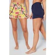 Studio Pack of 2 Beach Shorts