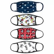 Disney Store Mickey and Minnie Cloth Face Coverings, Pack of 4