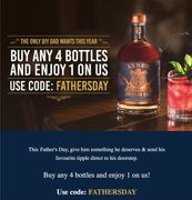 Buy Any 4 Bottles and Enjoy 1 for Free from LYRES.CO.UK