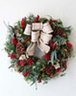 FARMHOUSE FOLIAGE,Christmas Wreath