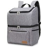 DEAL STACK - Lifewit Large Double-Decker Soft Cooler Backpack, Grey + 15% Coupon