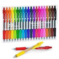 50%off Lineon 20 Colours Retractable Gel Pens