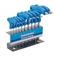 Silverline Hex Key T-Handle Set 2-10 Mm (10 Pieces)