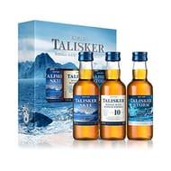 Talisker Single Malt Scotch Whisky, 3 X 5 Cl Gift Pack