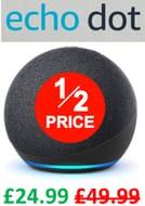SAVE £25 - PRIME EXCLUSIVE! Echo Dot (4th Gen)