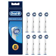 Oral-B Precision Clean Toothbrush Head, Pack of 8