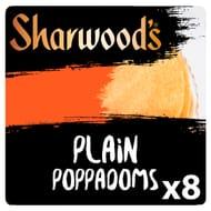 Sharwoods Ready to Eat Poppadoms 8Pk £1 Clubcard Price.
