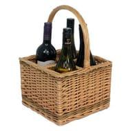 Willow Premium DB009 4 Bottle Carrier