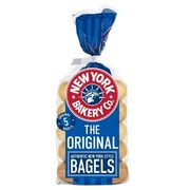 5 Plain New York Bakery Co. Bagels