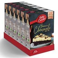 Pack of 6 Betty Crocker Chocolate Brownie Cheesecake Cake Mix 225g