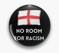 Football Anti-Racism Badge at Redbubble