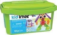 Kid K'NEX 85618 50 Build Budding Builders Set