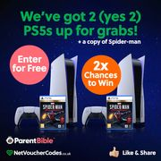 Win a Brand New PS5 and a Spiderman Game!