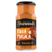Sharwoods Cooking Sauces 420G. 7 Varieties All £1 Clubcard Price