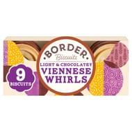 Border Biscuits Light & Chocolatey Viennese Whirls