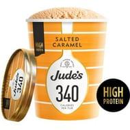 Jude's Low Cal Salted Caramel Ice Cream 460ml