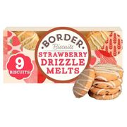 Border Biscuits Strawberry Drizzle Melts