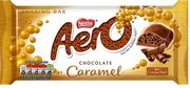 Aero Caramel Chocolate Sharing Bar, 100g