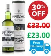 Laphroaig Select Islay Single Malt Scotch Whisky, 70cl
