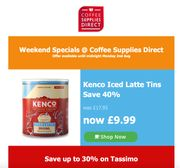 Weekend Specials on Coffee Supplies