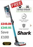 SHARK CORDLESS VACUUM - FREE DOUBLE UPGRADE OFFER - THIS WEEKEND ONLY