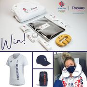 Win Team GB Tokyo 2020 Kit and Merch with Dreams Beds