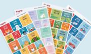 Save over 73% Mega Name Label Pack - 324 Sticky & Iron on Labels