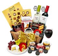 Trafalgar Hamper with Red & White Wine