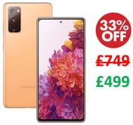 £250 OFF TODAY! Samsung Galaxy S20 FE 5G Mobile Phone; Sim Free 256 GB