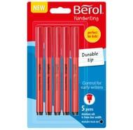 Berol Handwriting Pens 5pk