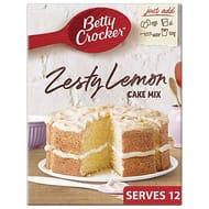 Betty Crocker Zesty Lemon Cake Mix, 425g