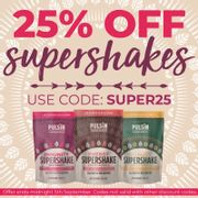 25% off Supershakes