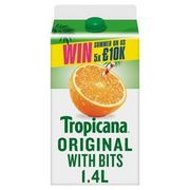 Tropicana Original with Bits Orange Juice - Only £2!