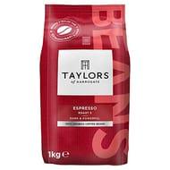 Taylors of Harrogate Espresso Beans, 1kg (Pack of 3)