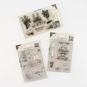 Joy! Crafts 3 X Stamp Sets - Home Sweet Home & City View - 23 Stamps Total
