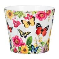 Tropicana Ceramic Cover Pot 13cm