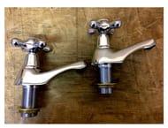 Armitage Shanks Chrome Priory Bath Pillar Taps - Now £27.97!