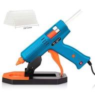Tilswall Heavy Duty Melt Glue Gun with 35pcs Glue Sticks - Only £13.49!