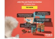 Join The Cat Food Revolution With A £1 Taster Box - 28 Meals!