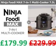 £50 OFF TODAY! Ninja Foodi MAX Multi-Cooker