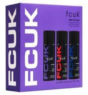 FCUK Body Spray Trio Gift Set