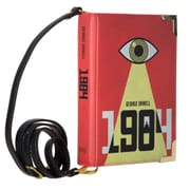 1984 Book Handbag Crossbody Clutch - Small