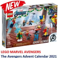 New! LEGO Marvel the Avengers Advent Calendar 2021 (76196)