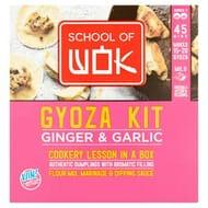 School of Wok Gyoza Kit Ginger & Garlic