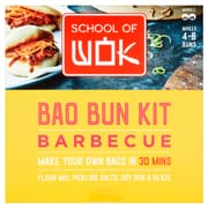 School Of Wok Barbecue Bao Bun Kit 321g