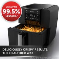 Breville Halo Air Fryer, Digital Air Fryer Oven, 5.5 Litre