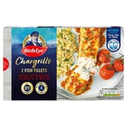 Birds Eye 2 Chargrills Fish Fillets with Sundried Tomato & Basil 250g